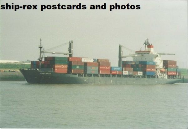 DAMASKUS (container ship) photo (a)